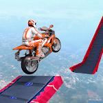 Mega Ramp 2019 - Crazy Moto Rider Bike Stunts Game icon