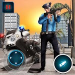 Highway Police Gangster Moto Bike Chase Master icon