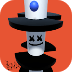 The Helix music ball: Marshmello music icon