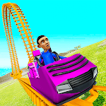 Roller Coaster Train 2019 icon