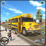 School Bus Driving Games : City Coach Bus Driver icon
