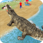 Crocodile Simulator : Animal attack Crocodile Game icon