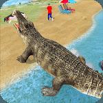 Crocodile Simulator : Animal attack Crocodile Game for pc logo