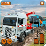 Offroad Tow Truck Driver Transport Truck Simulator for pc logo