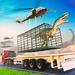 Jurassic Dinosaur Transport Offroad Truck icon