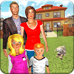 Virtual Mother-Happy Family Mom Life 3D Simulator for pc logo
