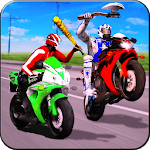 New Bike Attack Race - Bike Tricky Stunt Riding icon