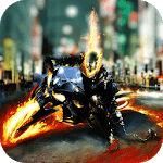 Ghost Rider Game : Ghost Bike Rider icon