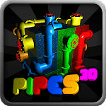 Pipes 3D icon