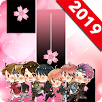 BTS Pink Piano Tiles icon