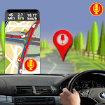 Voice GPS Direction: GPS Maps Navigation Routes icon