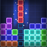 Glow Puzzle Block - Classic Puzzle Game for pc logo