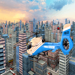 Police Helicopter City Rescue Mission Simulator 18 icon