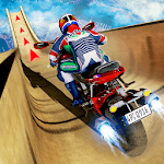 Vertical Mega Ramp Bike Stunt Racing icon