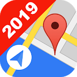 free GPS Location tracker, Map and Live Position icon