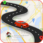 GPS Maps live Navigation & Direction Route Finder icon