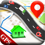 GPS  Maps And Navigation Route Direction Map icon