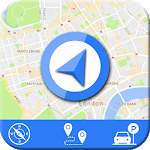 Live GPS Maps & Navigation 2019: GPS Driving Guide for pc logo