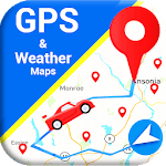 Maps & Navigation - GPS Route Finder; Weather Info for pc logo