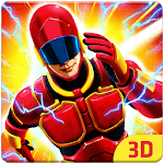 Grand Light Speed Robot : Superhero Fight icon