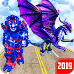 Grand US Dragon Robot Battle 3D icon