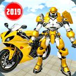 US Power Bike Transform Robot Battle icon