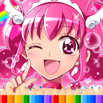 How To Color Pretty Cure for pc logo