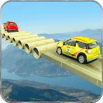 Impossible Ramp Car Driving & Stunts icon