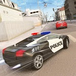 Crime Cop Car Chase Mission icon