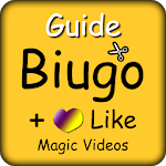 Guide For Biugo And Like App : Magic Video Editor for pc logo