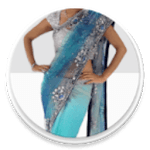 Saree Wearing Styles for pc logo