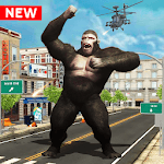 Angry😡Mad King Kong :Rampage Gorilla City Smasher icon