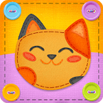 Button Cat: match 3 cute cat puzzle games icon