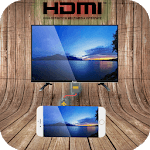 HDMI Phone Connect to TV icon