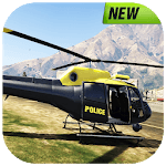 Real Police Helicopter Simulator : Cop City Flying icon