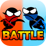 Jumping Ninja Battle - Two Player battle Action! icon