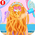 Princess Braided Hairstyle Makeover icon