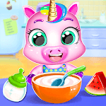 Unicorn Care Nanny Pet House icon