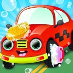 Kids Car Wash Salon Service Workshop icon