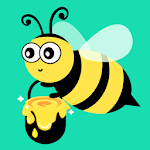 Honeybee Garden - Honey & Bee Tycoon icon