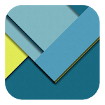 Material Style Tiles LWP icon