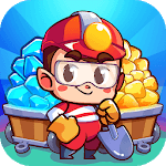 Idle Miner Simulator - Gold & Money Clicker icon