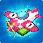 Merge All Jets: Game Merge Planes Idle Tycoon icon