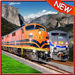 World Train Driving 3D for pc logo