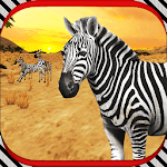 Zebra Horse Games Simulator 3D icon