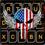 American Skull Mask Keyboard Theme icon