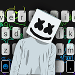 Dj Music Doodle Keyboard Theme icon