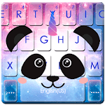 Galaxy Unicorn Panda Keyboard Theme icon