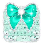 Green Diamond Bow Keyboard Theme icon