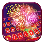 Happy New Year 2019 Keyboard Theme icon